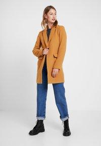 Even&Odd - Zimní kabát - stone - 1
