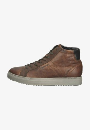 High-top trainers - cuoio