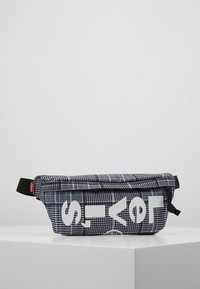 Levi's® - BANANA SLING PLAID - Bum bag - grey/dark green - 0