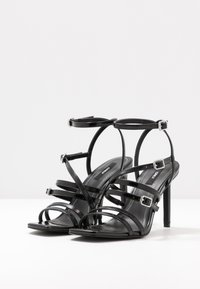 ONLY SHOES - ONLALYX  - High heeled sandals - black - 4