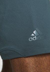 adidas Performance - DESIGNED4TRAINING CLIMALITE  - Korte sportsbukser - legacy blue - 3