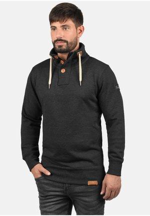 TRIPTROYER - Sweatshirt - dark grey melange
