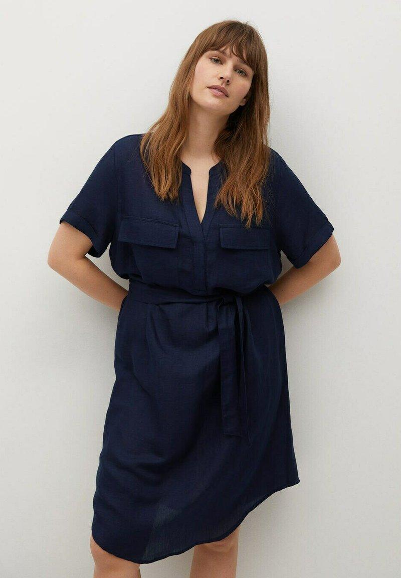 Violeta by Mango - COTILI - Day dress - marineblau