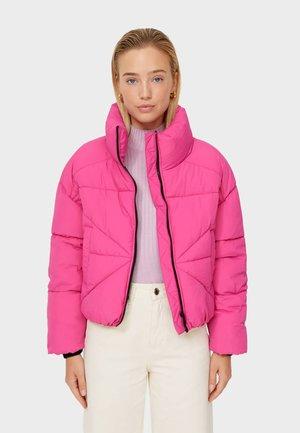 PUFFER SCHAL - Light jacket - mottled pink