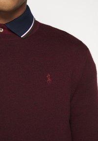 Polo Ralph Lauren - Pullover - rich ruby heather - 5
