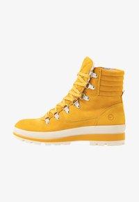 Tamaris - Lace-up ankle boots - saffron - 1