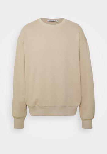 BASIC LOOSE FIT - Sweatshirt - beige