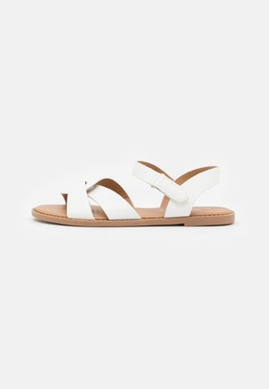 FISHERMAN WEAVE  - Sandalias - white