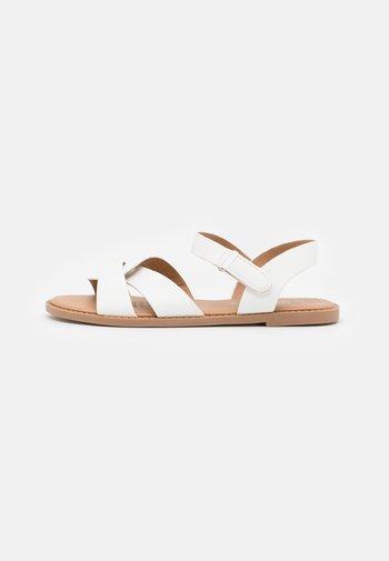 FISHERMAN WEAVE  - Sandals - white