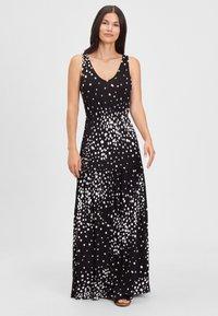 LASCANA - Maxi dress - schwarz-weiß-bedruckt - 0