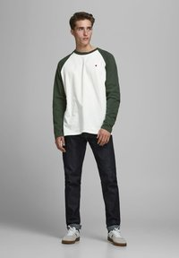 Jack & Jones PREMIUM - Long sleeved top - climbing ivy - 1