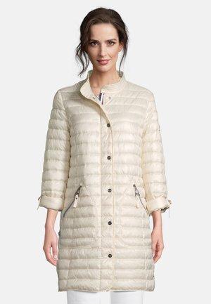 MIT STEHKRAGEN - Winter coat - beige