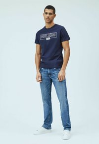 Pepe Jeans - DENNIS - T-shirt con stampa - thames - 1