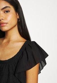 Free People - HAILEY MINI DRESS - Day dress - black - 4