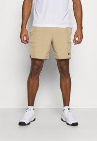 Nike Performance - Sports shorts - parachute beige/black - 0