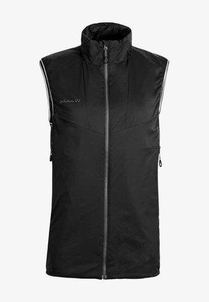 RIME LIGHT IN FLEX  - Waistcoat - black