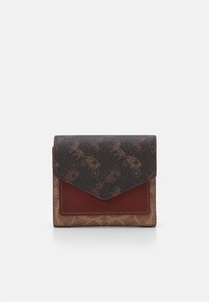 SIGNATURE CARRIAGE SMALL WALLET - Wallet - tan/brown/rust