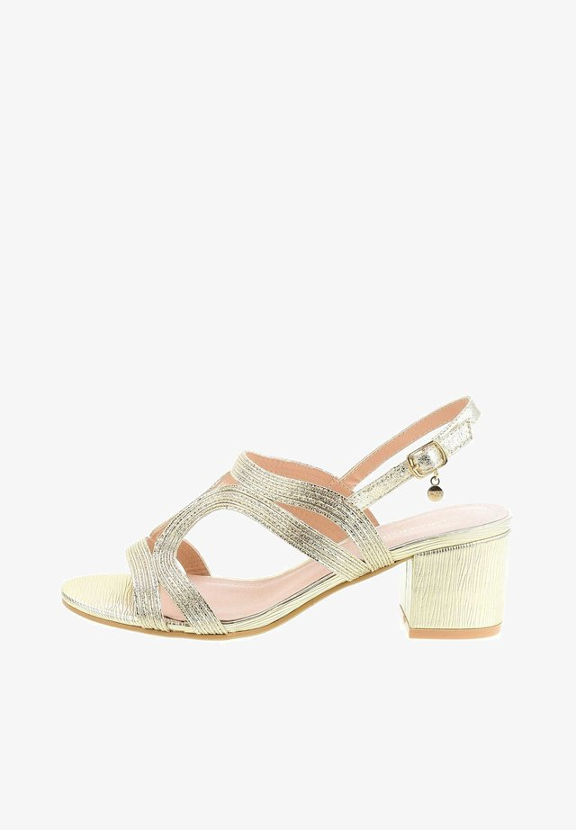 FILETTANO  - Sandalen - platinum