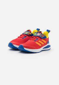 adidas Performance - FORTARUN SUPERHERO UNISEX - Neutral running shoes - vivid red/team royal blue/footwear white - 1