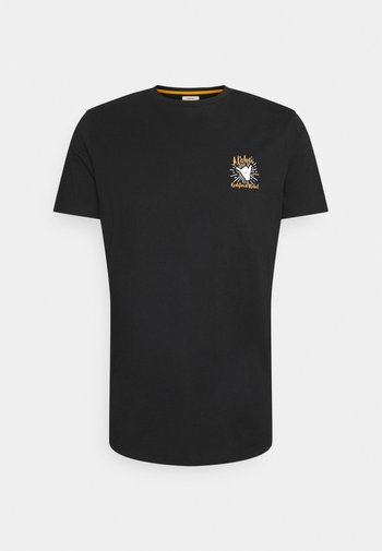 RYDER TEE UNISEX - Print T-shirt - black