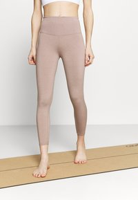 Cotton On Body - ACTIVE HIGH WAIST CORE 7/8 - Leggings - mushroom marle - 0