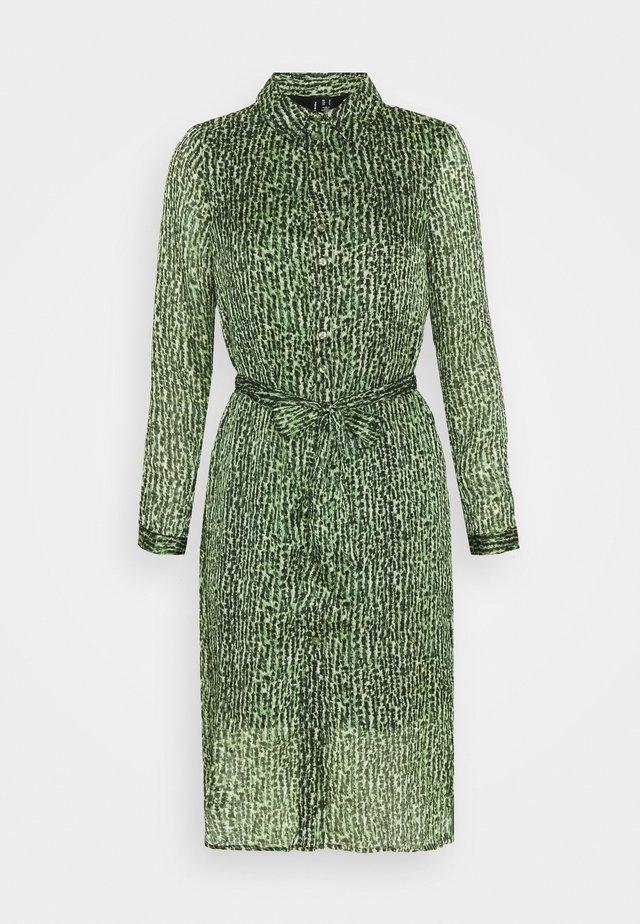 VMKATINKA DRESS  - Shirt dress - dark green
