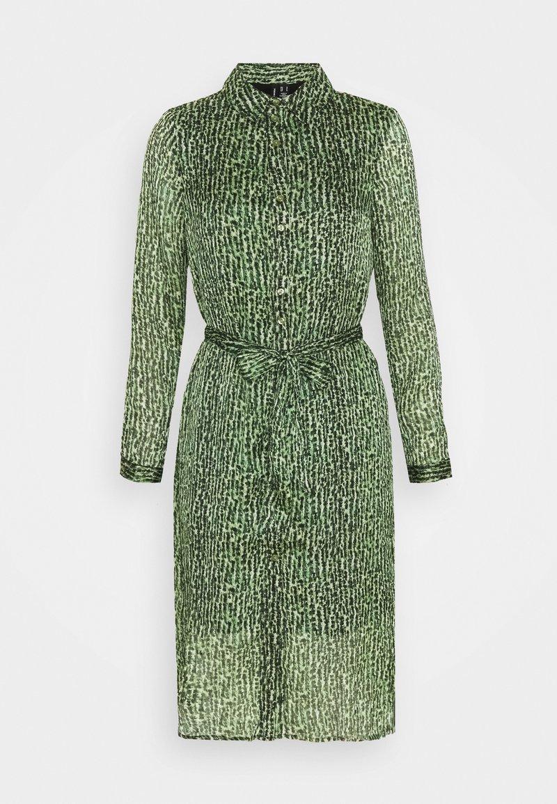 Vero Moda Petite - VMKATINKA DRESS  - Košilové šaty - dark green