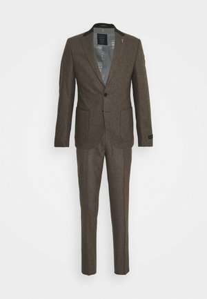 SILVANNUS SUIT SET - Suit - brown