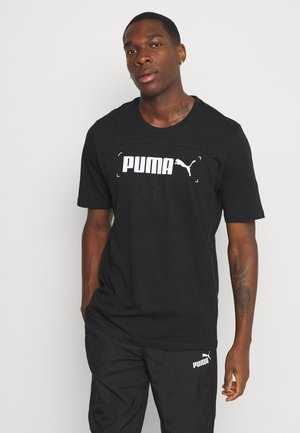NU TILITY GRAPHIC - Print T-shirt - black