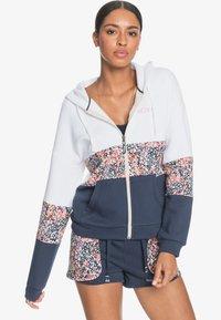 Roxy - PASS THE MIC  - Zip-up sweatshirt - mood indigo mindo - 2