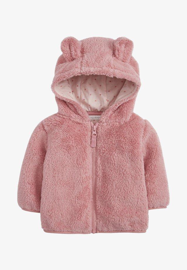 Fleecová bunda - pink