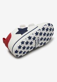 Next - STAR PRAM - Touch-strap shoes - white - 3