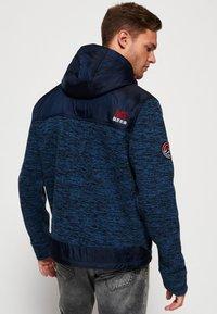 Superdry - MOUNTAIN - Zip-up hoodie - indigo navy marl - 2