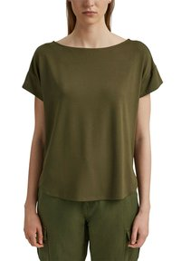 edc by Esprit - Print T-shirt - khaki green - 3