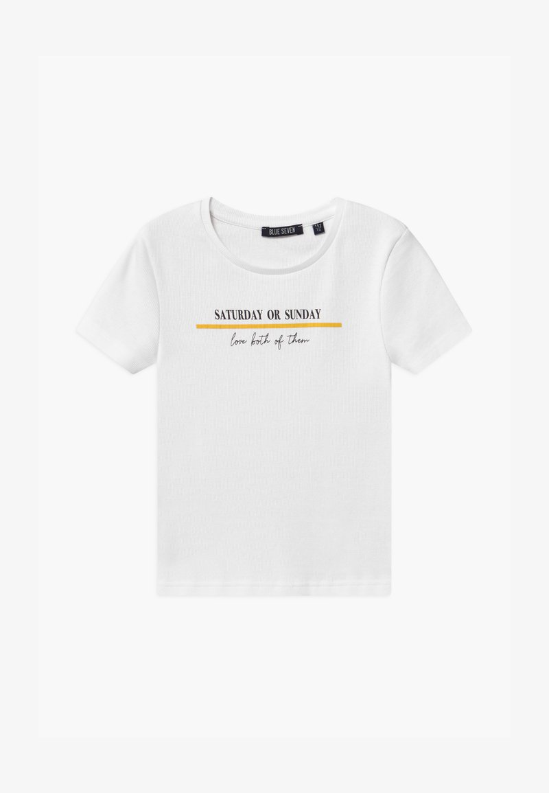 Blue Seven - TEEN GIRL WEEKEND - T-shirt print - weiss