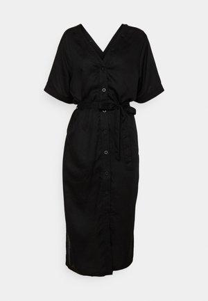 DRESS BORNHOLM - Paitamekko - black