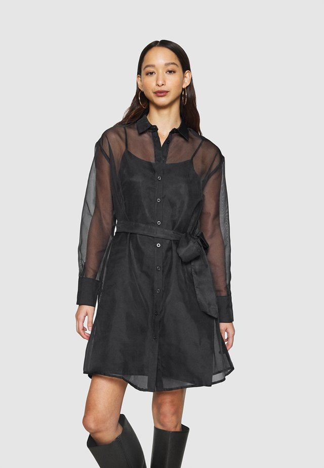 LIZA DRESS EXCLUSIVE - Blousejurk - black