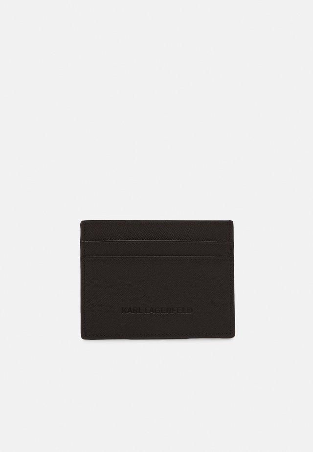 CARDHOLDER UNISEX - Geldbörse - black