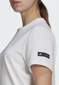 adidas Performance - MARIMEKKO - Sports dress - white - 5
