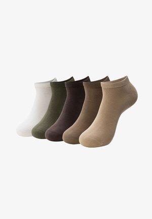 5 PACK - Sokken - brown/beige/mix
