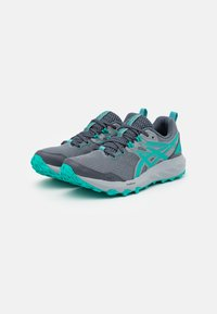ASICS - GEL SONOMA 6 - Chaussures de running - carrier grey/baltic jewel - 1