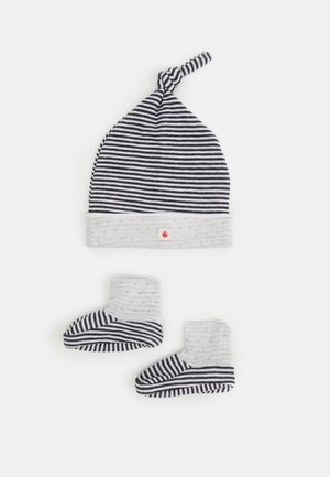 BABY BONNET CHAUSSONS SET UNISEX - Bonnet - white
