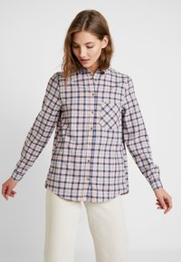 New Look - PAMMY CHECK - Blouse - pink - 0