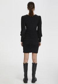 Gestuz - Shift dress - black - 1