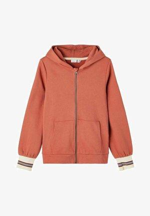 REISSVERSCHLUSS - Sweater met rits - etruscan red