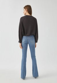 PULL&BEAR - Long sleeved top - dark grey - 2