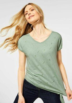 MIT SYMBOL - Print T-shirt - grün