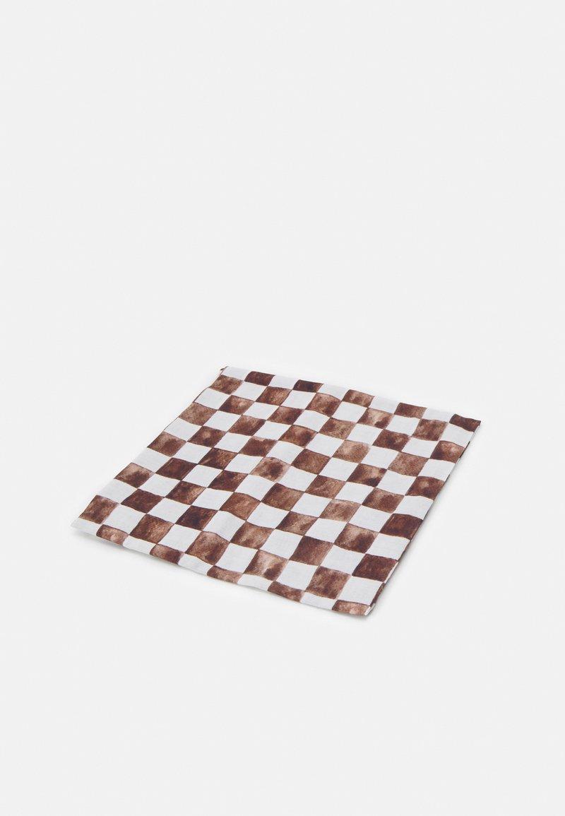 Monki - Akcesoria do stylizacji włosów - white/brown