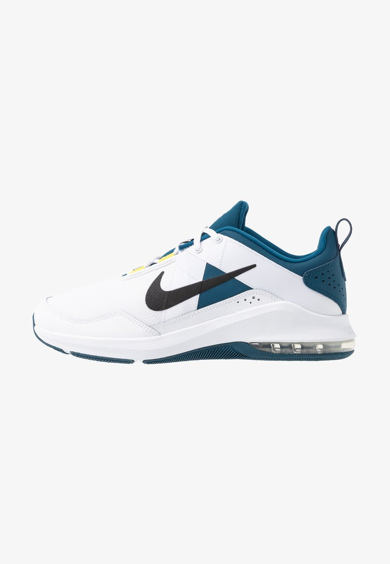 Nike Performance - AIR MAX ALPHA TRAINER 2 - Sports shoes - white/black/blue force/dynamic yellow