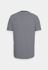Lyle & Scott - COLOUR STRIPE - T-shirt med print - navy - 6